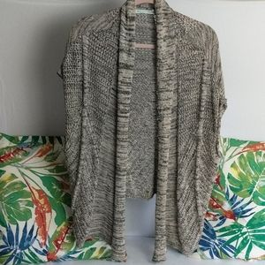 Maurice's size large open cardigan
